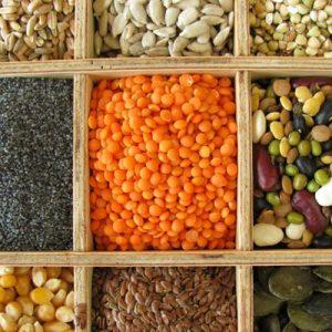 Contains Biotin: brewer's yeast, liver, soybeans,nuts, oatmeal, lentisl, wheat, barley, bananas, milk, egg-yolk