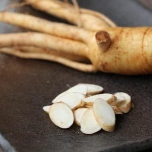 Ginseng increases libido and relieves potency problems