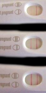 Positive Pregnancy Test Results vs. Test Evaporation Lines